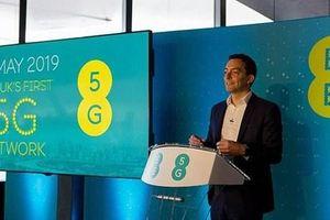 Anh chính thức cung cấp dịch vụ mạng di động 5G thương mại