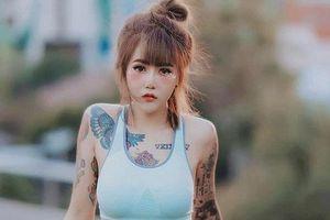 3 'kiều nữ xăm' Thái Lan: Mặt xinh như búp bê, da dính mực vẫn đẹp nuột nà