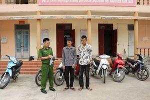 Bắt giữ 2 đội tượng trong đường dây trộm cắp 11 chiếc xe máy