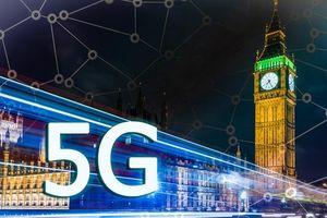 Anh Quốc chính thức gia nhập cuộc đua mạng 5G
