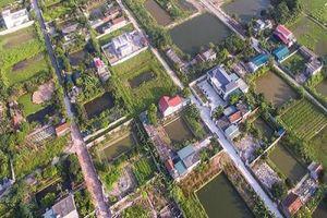 Thái Bình: Hơn 11ha đất dự án nông nghiệp 'biến mất', nhà ở mọc lên như nấm