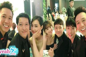 Dàn sao Việt đình đám đổ bộ đám cưới của đạo diễn trăm tỷ Nhất Trung