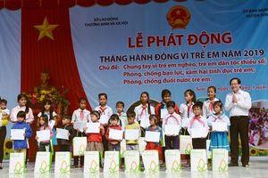 Quảng Ngãi: Chung tay vì trẻ em nghèo, trẻ em dân tộc thiểu số