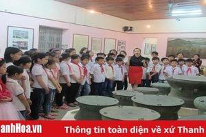 Giáo dục lịch sử cho học sinh qua những giờ học ngoại khóa tại Bảo tàng tỉnh