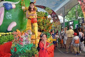 Lễ hội trái cây Nam Bộ phục vụ du khách suốt ba tháng hè