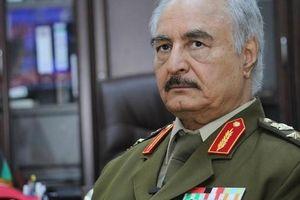 Nguyên soái Haftar của Libya nhờ TT Putin giúp dỡ bỏ lệnh cấm vận