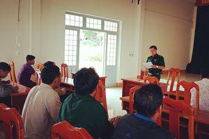 Tập huấn nhân dân tham gia tự quản đường biên, cột mốc