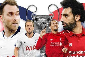 Lịch thi đấu, kênh trực tiếp chung kết Tottenham vs Liverpool