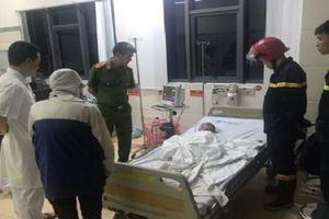 Kịp thời giải cứu bé trai 3 tuổi bị ngất trong đám cháy ở Bắc Ninh