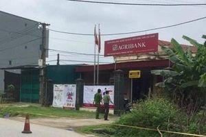 Cướp hơn 500 triệu đồng ngân hàng ở Phú Thọ: Vụ cướp chỉ xảy ra trong 1 phút