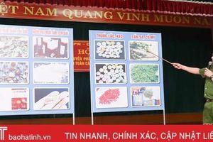 Truyền thông phòng chống tệ nạn ma túy, đảm bảo ATGT, PCCC tại huyện miền núi Hương Sơn