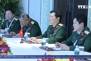 Bộ trưởng Ngô Xuân Lịch tiếp xúc song phương bên lề Đối thoại Shangri-La
