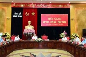 Đẩy mạnh hợp tác, kết nối giữa Hà Nội và Ninh Bình