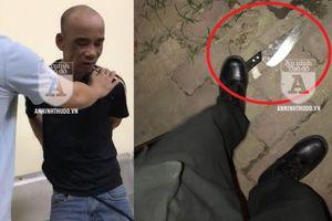 Cảnh sát 141 kể lại khoảnh khắc đối mặt và trấn áp đối tượng côn đồ manh động