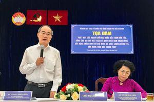 Mặt trận chung tay xây dựng TP Hồ Chí Minh có chất lượng sống tốt