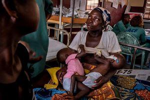 Hôi thối và đầy tiếng khóc trong viện nhi duy nhất ở Trung Phi