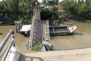 Vụ sập cầu Tân Nghĩa ở Đồng Tháp: Tải trọng xe gấp gần 4 lần tải trọng cầu