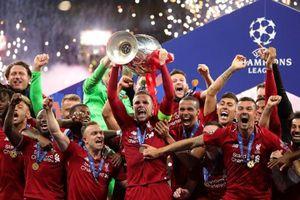 Dàn sao Liverpool òa khóc nâng cao chiếc cúp Champions League danh giá