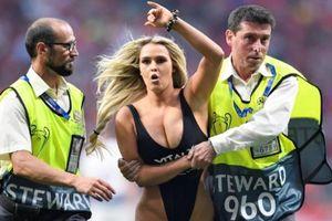 Fan nữ khoe 'da thịt' ở chung kết Champions League và... cái kết