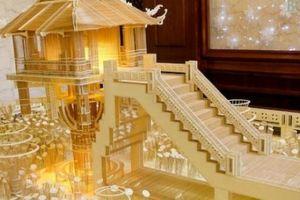 Kỷ lục gia tiết lộ kỹ nghệ xây tuyệt tác chùa Một Cột, nhà Quốc hội Mỹ bằng tăm tre