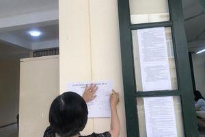 Hà Nội có ba thí sinh bị đình chỉ thi môn Ngữ văn