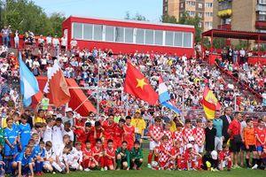 Việt Nam dự giải bóng đá hữu nghị thiếu niên ở Nga