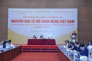 Học giả, chính khách Nguyễn Văn Tố: Tấm gương sáng chói yêu nước thương dân