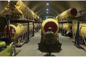 Iran công bố hầm sản xuất tên lửa dưới lòng đất giữa lúc căng thẳng với Mỹ leo thang