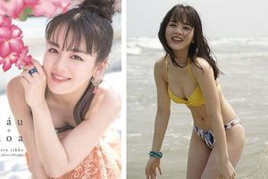 'Nữ thần học đường' Nhật Bản khoe dáng với bikini ở Việt Nam