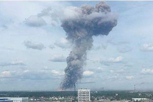 Số người bị thương trong vụ nổ nhà máy thuốc nổ tại Nga lên tới 79