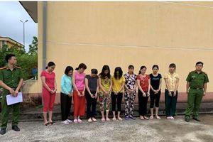 10 kiều nữ xứ Lạng bị bắt khi đang say sưa sát phạt