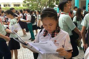 Tuyển sinh lớp 10: Gần 170.000 thí sinh Hà Nội, TP HCM bắt đầu thi môn Ngữ Văn
