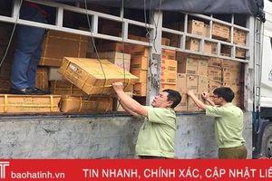 Lực lượng Quản lý thị trường Hà Tĩnh xử lý 840 vụ vi phạm