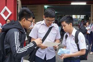 TP Hồ Chí Minh có sai sót lỗi chính tả trong đề thi tiếng Anh