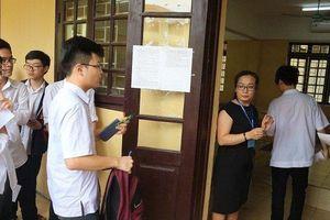 Thi vào lớp 10: Hơn 500 thí sinh bỏ thi môn Toán tại Hà Nội chiều 2/6