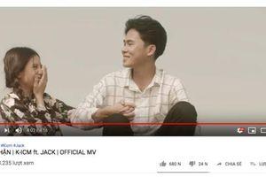 'Bạc phận' trở thành MV tiếp theo từ Jack - K - ICM cán mốc trăm triệu view, thời gian đạt được gây choáng