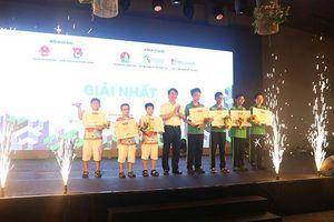 Học sinh Hà Nội giành giải Nhất cuộc thi Tài năng công nghệ nhí năm đầu tiên