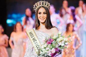 Nhan sắc cô gái cao 1,81 m vừa đăng quang Hoa hậu Hòa bình Mexico