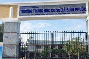 Quảng Ngãi: Một thầy giáo vô cớ đánh học sinh, dọa 'bung' lựu đạn hại hiệu trưởng