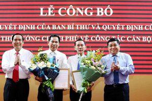 Triển khai quyết định nhân sự của Ban Bí thư và Thủ tướng Chính phủ