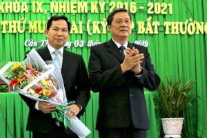 Đồng chí Lê Quang Mạnh giữ chức Chủ tịch UBND TP Cần Thơ