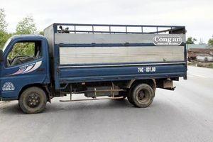 Thượng úy CSGT hy sinh do xe tải tông khi làm nhiệm vụ