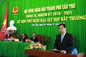 Ông Lê Quang Mạnh giữ chức Chủ tịch UBND TP Cần Thơ
