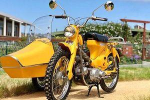 Xe máy Honda Super Cub độ Sidecar 3 bánh cực chất