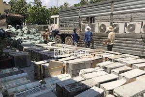 Trên 220 bộ máy lạnh cũ nhập lậu từ Campuchia về Việt Nam