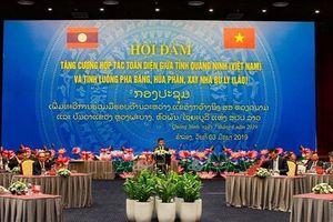 Tăng cường hợp tác giữa Quảng Ninh và 3 tỉnh Bắc Lào
