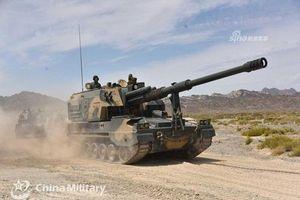 Đứng hình ngắm khẩu pháo tự hành mạnh nhất Trung Quốc