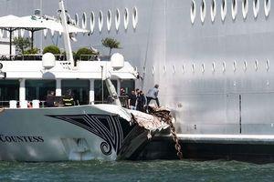 Tai nạn bến tàu Venice-Italia khiến 4 người bị thương