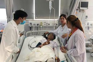 3 cha con đi giao bình gas cùng bị bỏng nặng được điều trị thành công