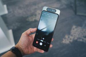 Samsung Galaxy A80 với camera trượt xoay 180 độ đã có mặt tại Việt Nam